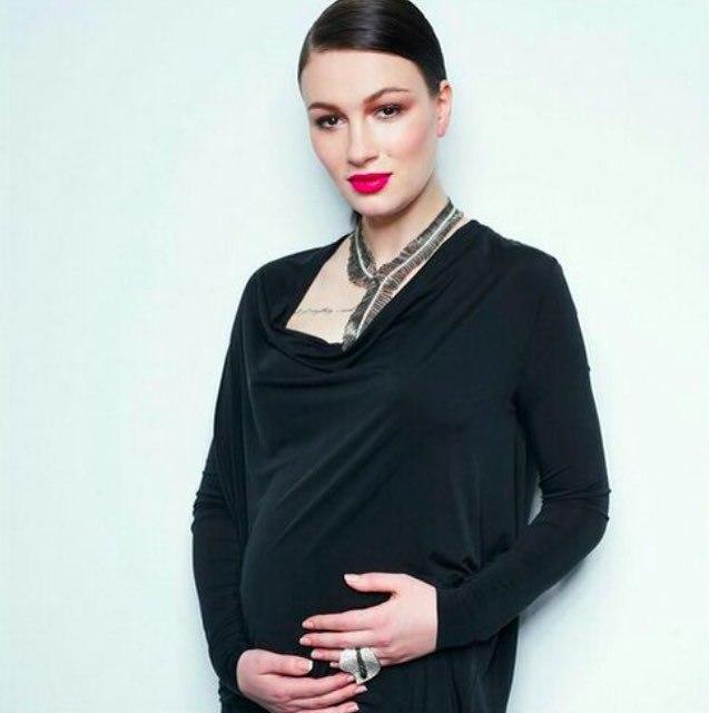 Анастасия Приходько родила второго ребенка