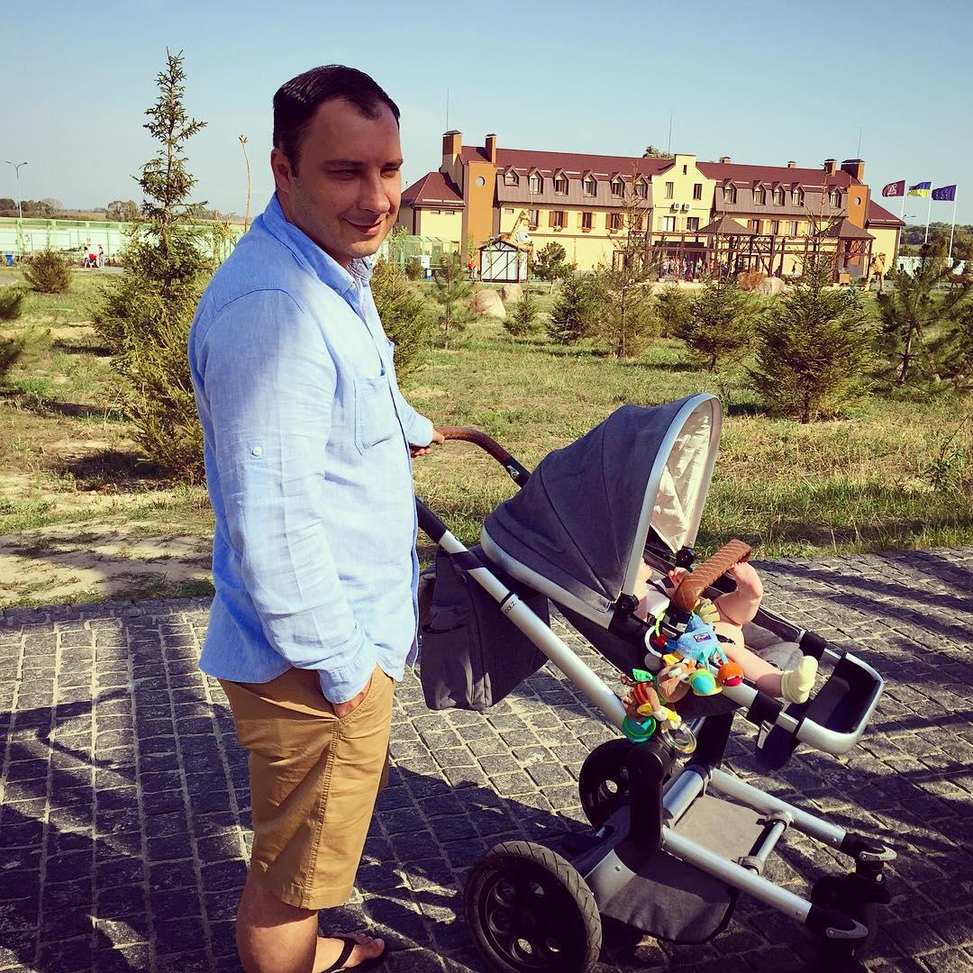 Дмитрий Танкович с дочерью
