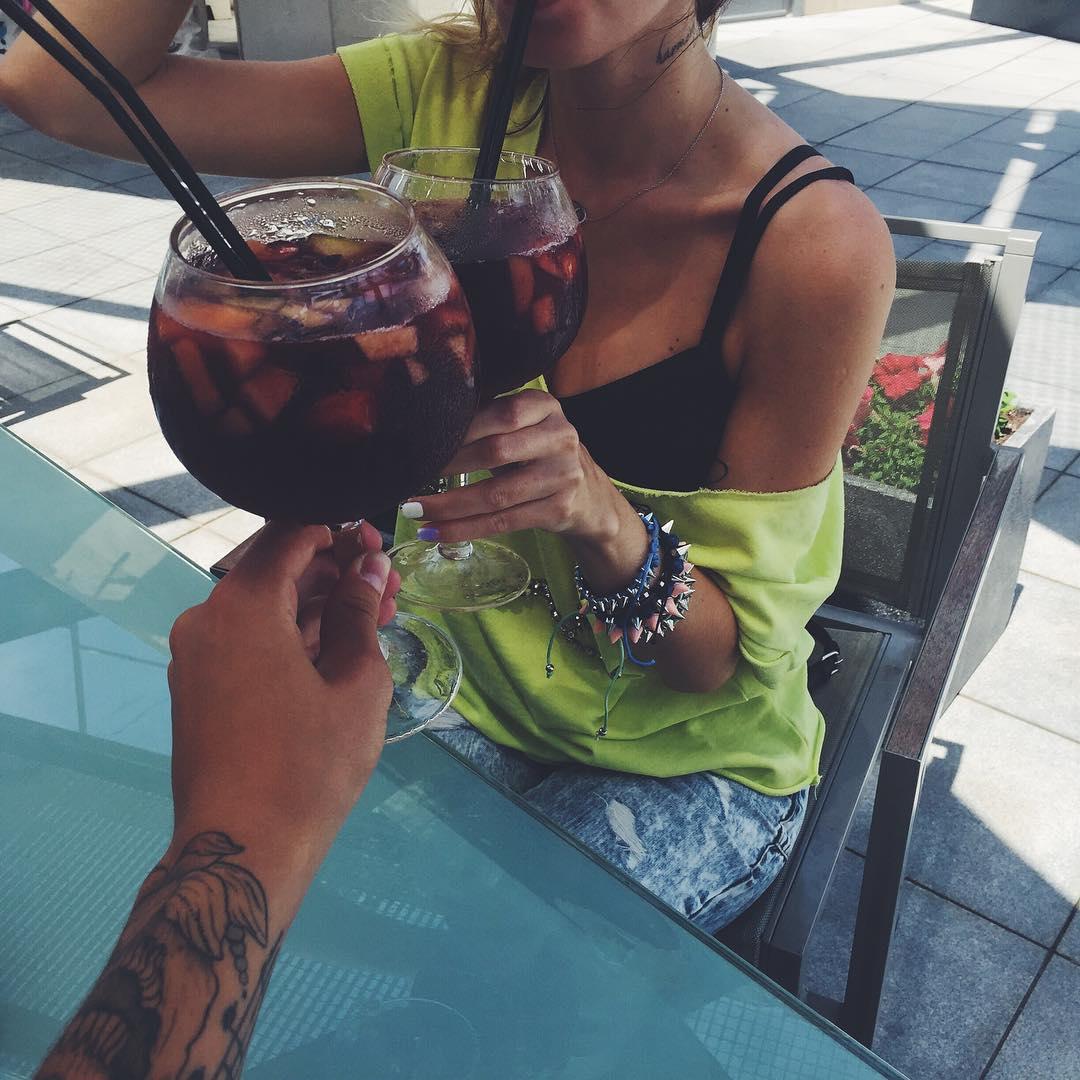 Надежда Дорофеева и Владимир Дантес проводят медовый месяц в Испании