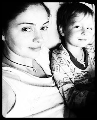 Ирина Скорикова сын