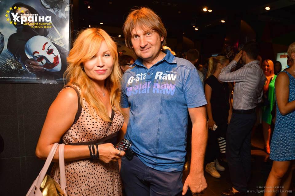 Lilu с мужем Владимиром