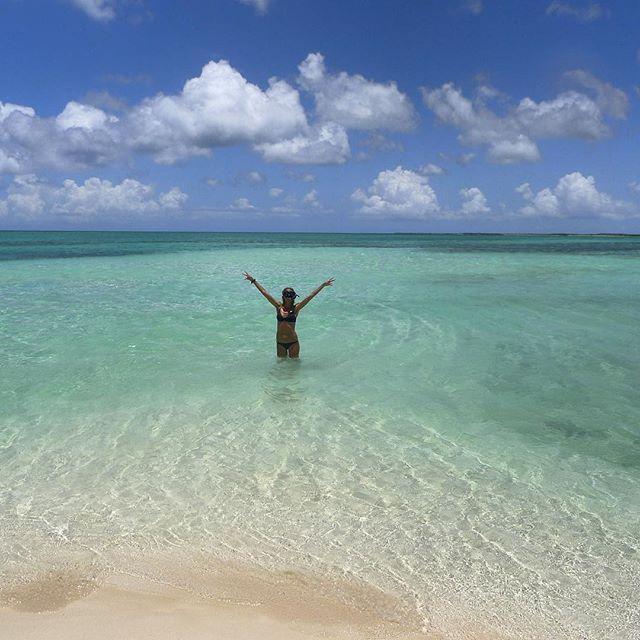 """""""Жизнь - это пляж!"""": Хайди Клум показала фото с отдыха"""
