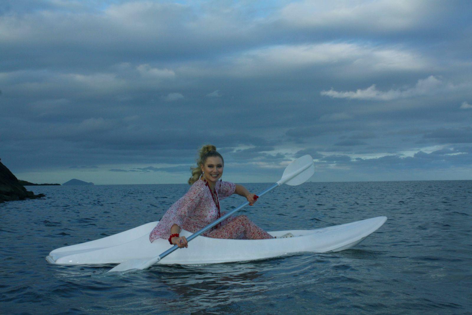 Лена Ленина устроила себе шикарный отдых на Маврикии