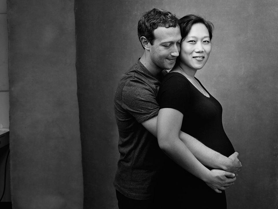 Необычайно нежно: Марк Цукерберг показал трогательный снимок с беременной женой