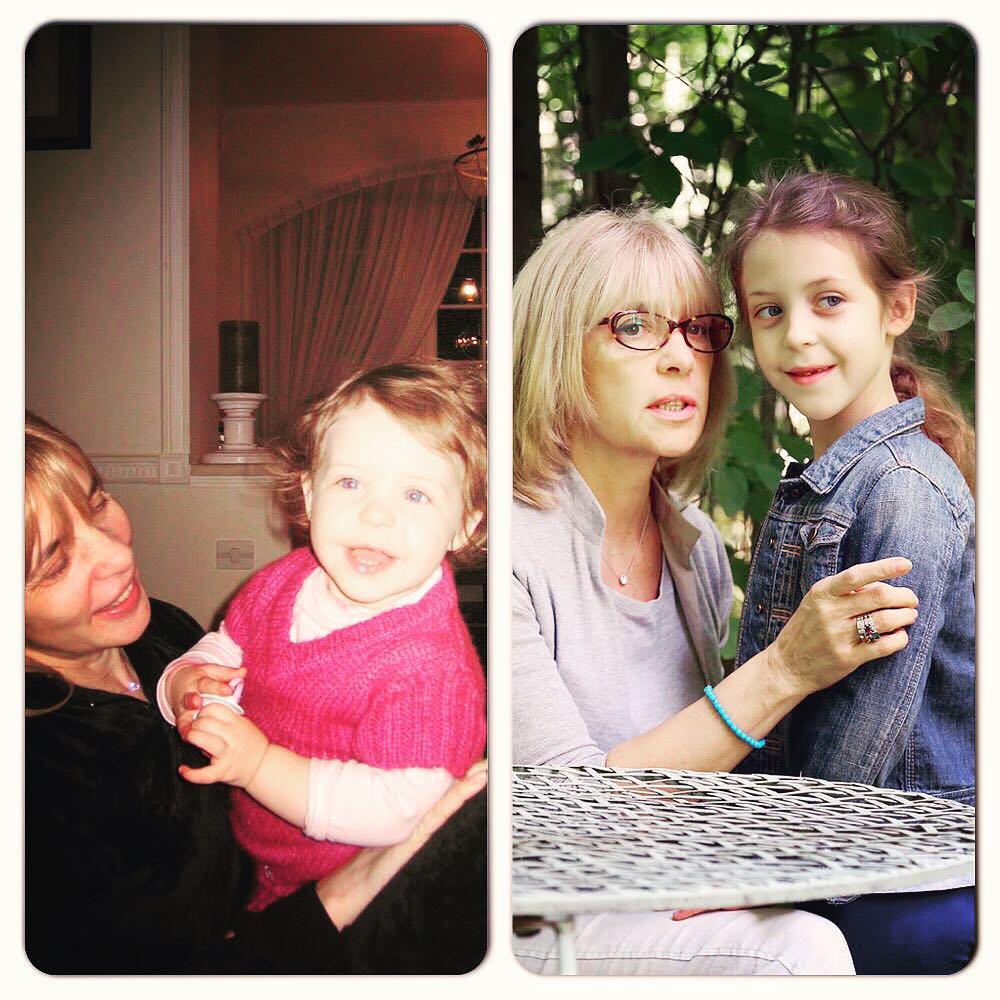 Семейные фото Веры Глаголевой из альбома дочерей