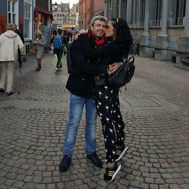Ольга Романовская с мужем