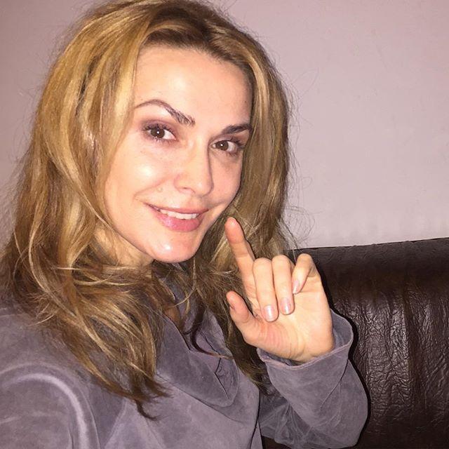 49-летняя Ольга Сумская показала лицо без макияжа