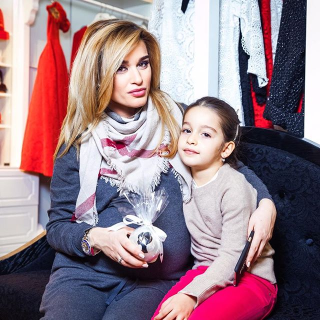 Дважды мама Ксения Бородина назвала дочь редким именем