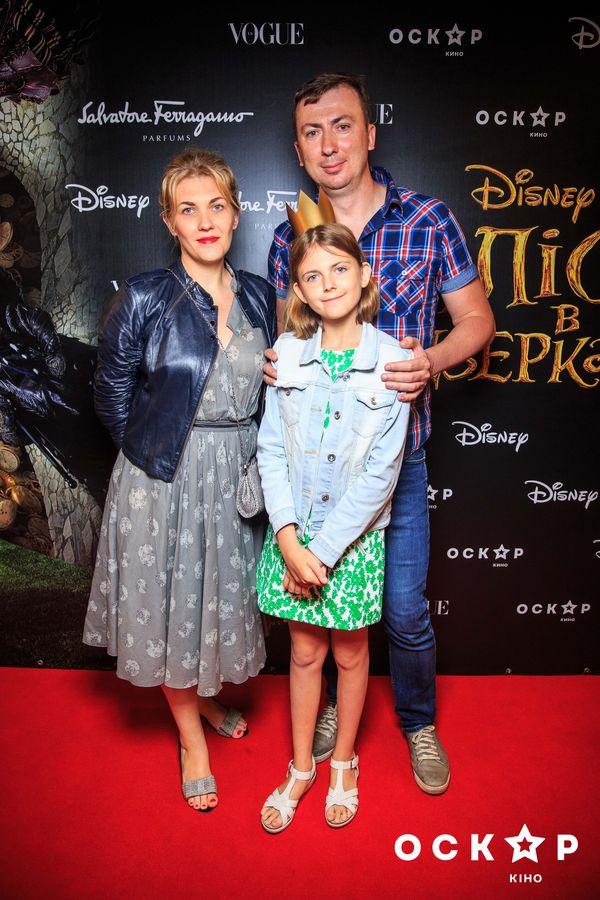 Валерий Жидков с женой и дочерью