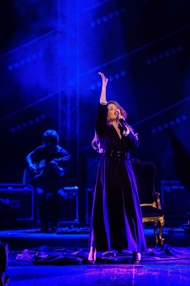 Тина Кароль провела 8 марта на концертах в Одессе