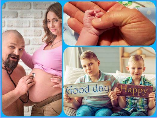 У Василия Вирастюка родился третий ребенок