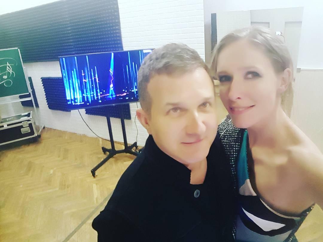 Катя Осадчая и Юрий Горбунов