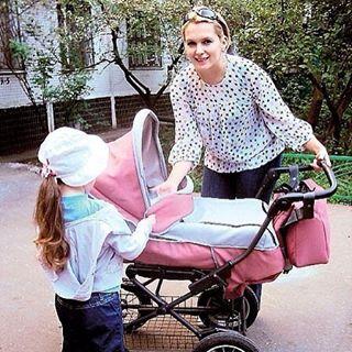 Мария Порошина поделилась трогательной фотографией с пятимесячной дочкой