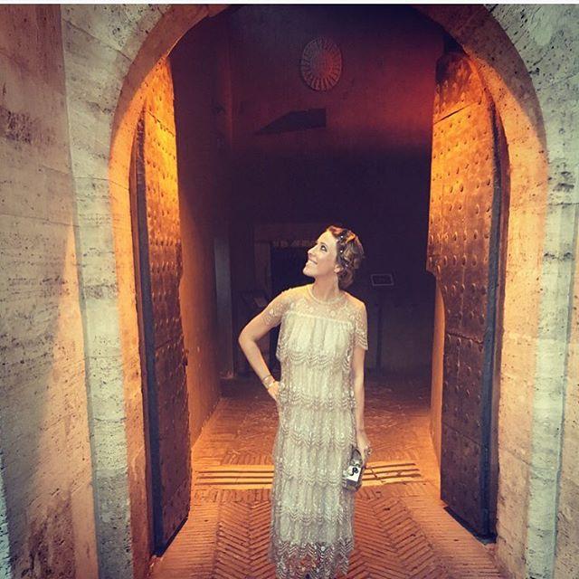 Беременная Ксения Собчак наслаждается отдыхом в Италии