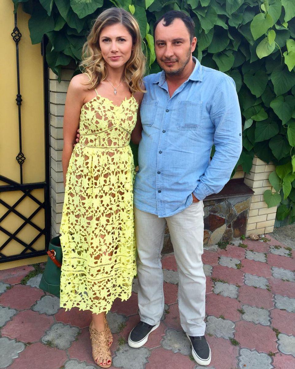 Дмитрий Танкович с женой Ольгой Рыбкой