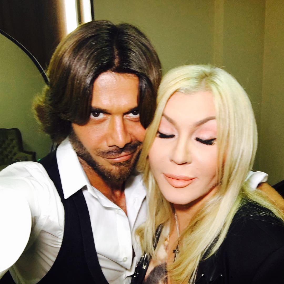 Ирина Билык и Аслан Ахмадов