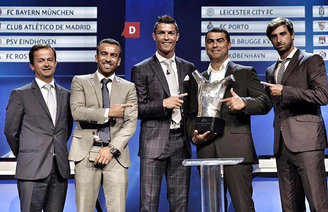 Криштиану Роналду признан лучшим футболистом Европы