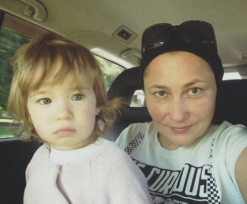 Алена Мозговая показала свою полуторагодовалую доченьку Соломию