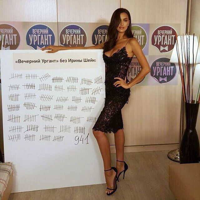 Телешоу, показы, вечеринки: Ирина Шейк показала, как проводит время в Москве
