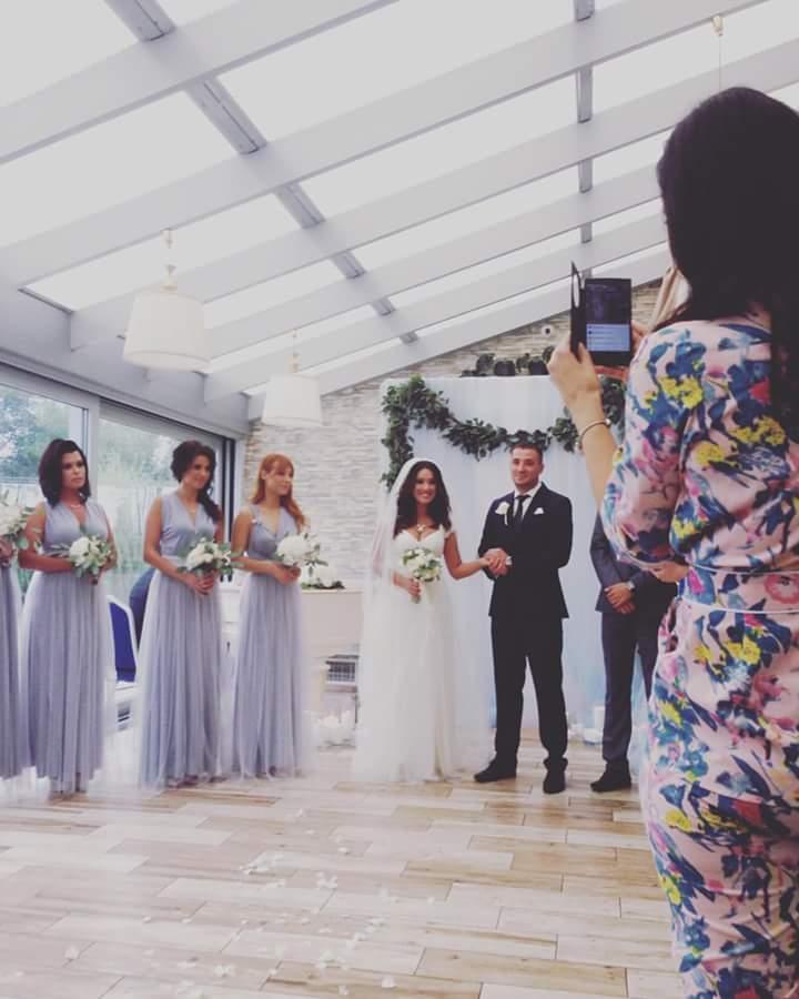 Наталка Карпа вышла замуж за героя АТО: свадебные фото
