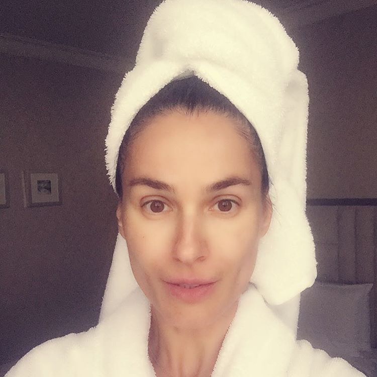 Маша Ефросинина без макияжа