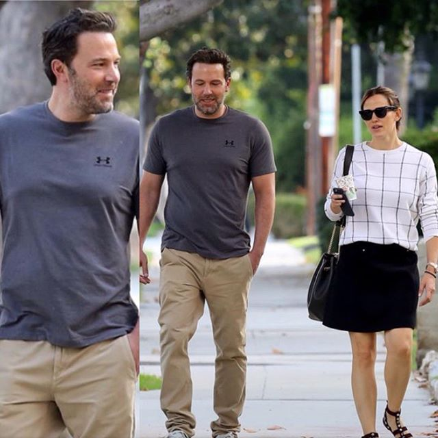 Инсайдеры: Бен Аффлек и Дженнифер Гарнер сходили на свидание