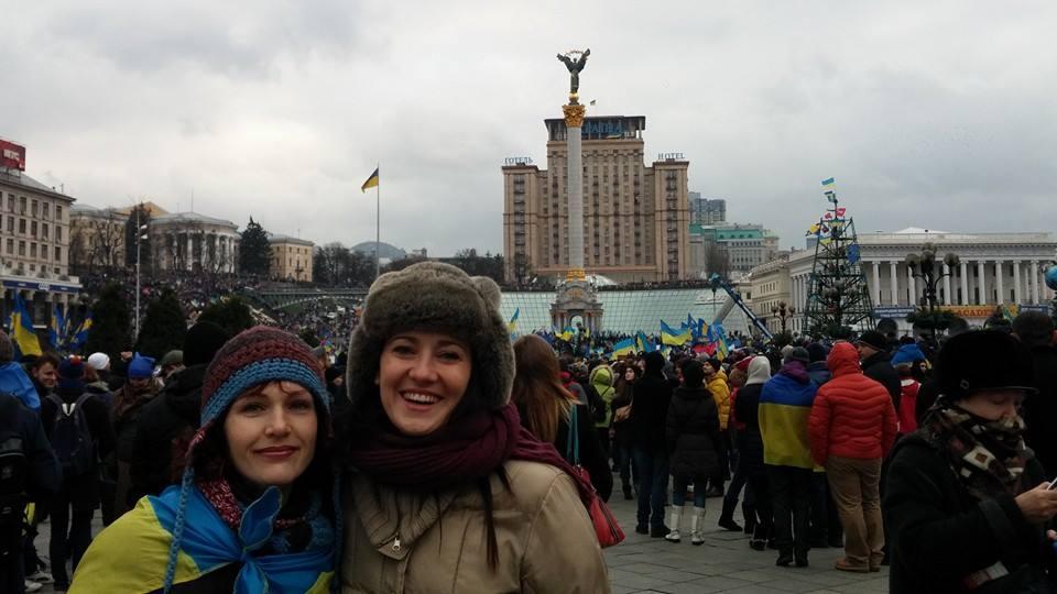 Соломия Витвицкая на евромайдане фото