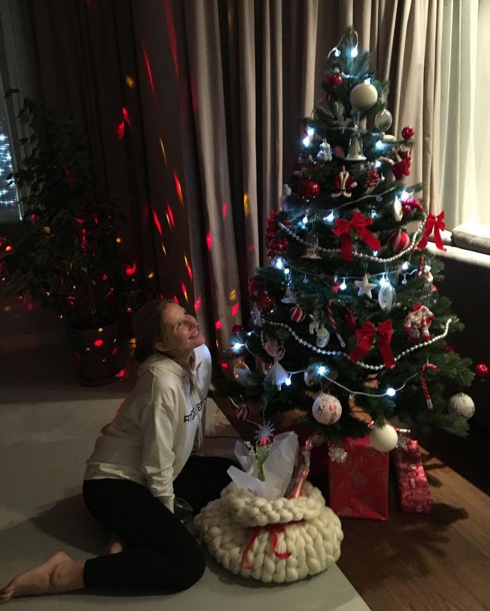Катя Осадчая и Юрий Горбунов отметили Новый год вместе