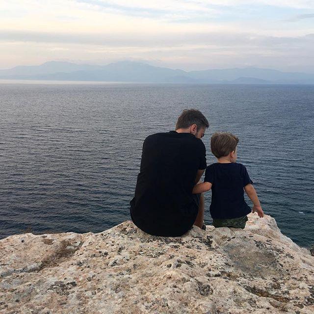 Лучший папа в мире: Дмитрий Шепелев отдыхает с сыном Платоном