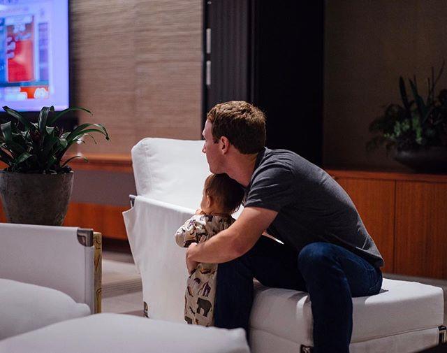 Основатель Facebook Марк Цукерберг во второй раз станет папой