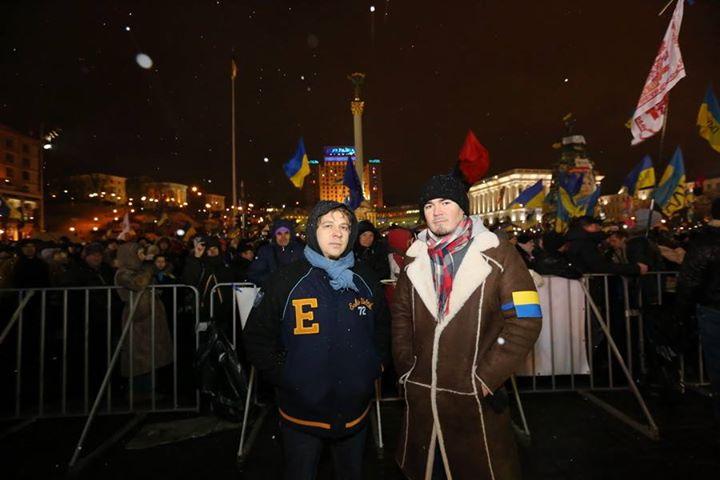 Фагот ТНМК Евромайдан фото 2013
