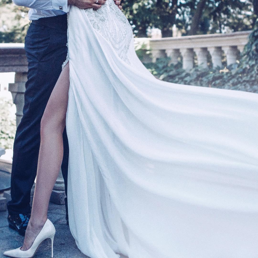 Николай Тищенко женился на 22-летней возлюбленной