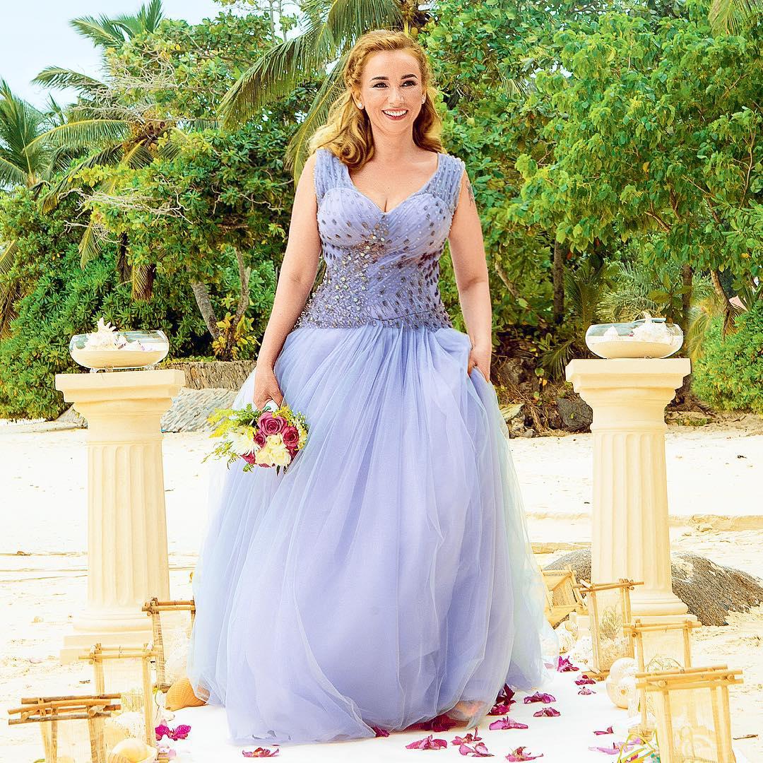 Анфиса Чехова показала фото своей сказочной свадьбы на Сейшелах