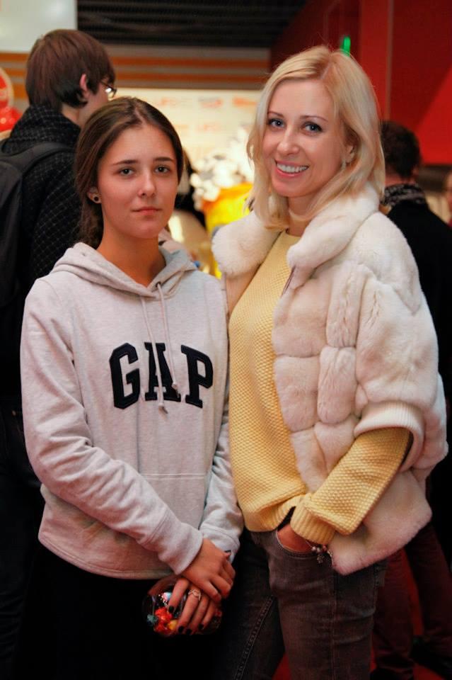 Тоня Матвиенко с дочерью Уляной
