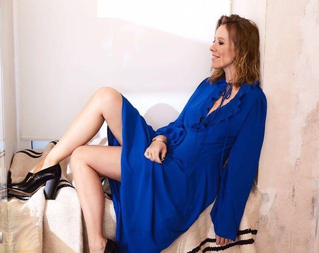 Ксения Собчак впервые снялась в купальнике после рождения сына