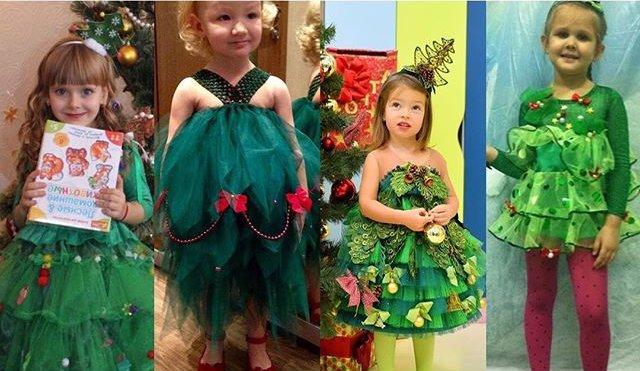 Елка-style: лучшие детские копии новогоднего платья Кати Осадчей