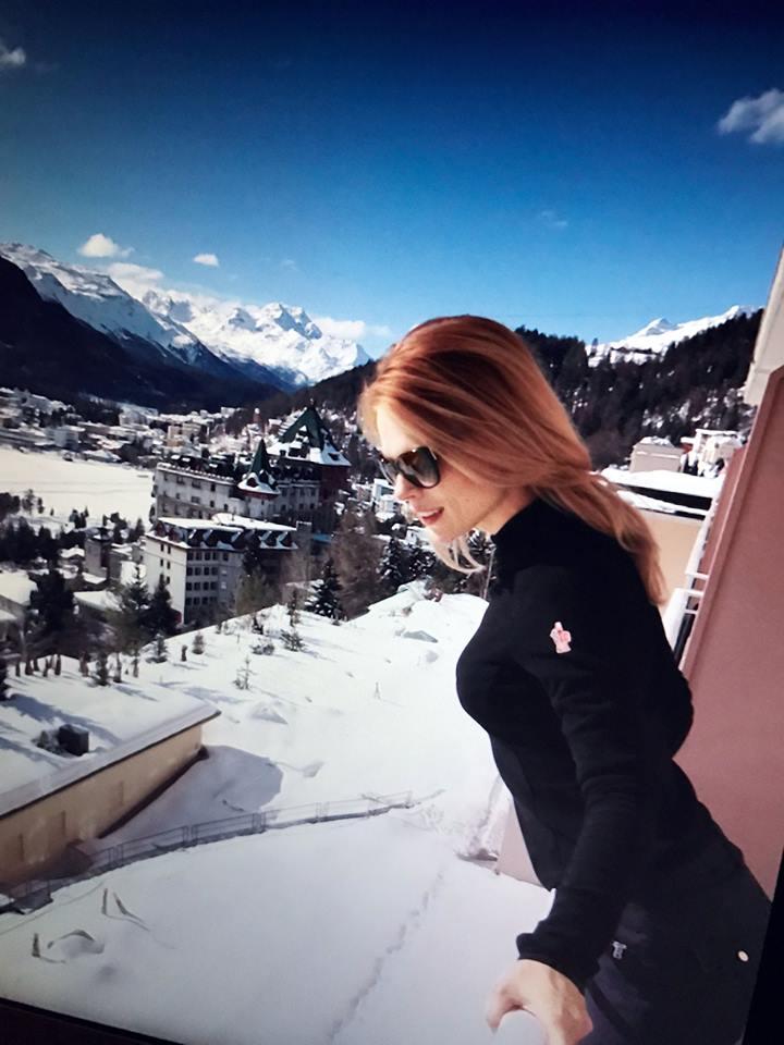 Ольга Фреймут показала, как отдохнула в заснеженных Альпах