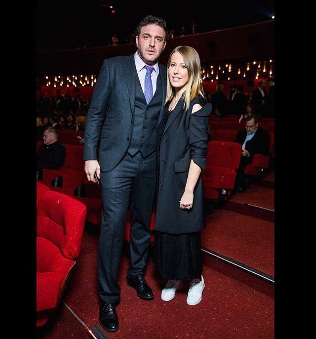 Роскошная пара: Ксения Собчак и Максим Виторган покоряют стилем на красной дорожке