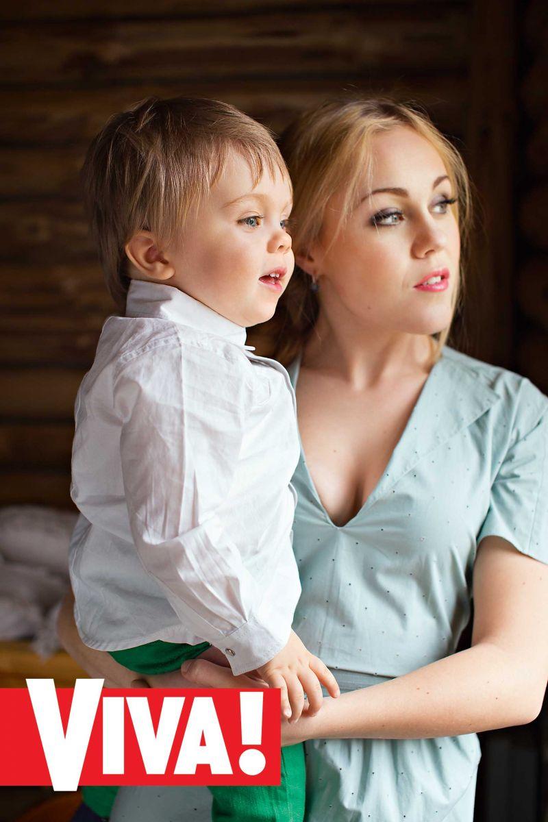 Alyosha и ее сын Роман