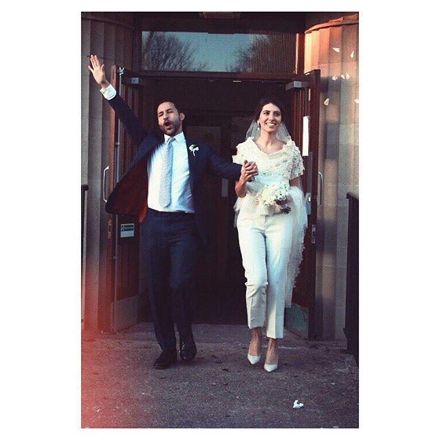 Долой стереотипы: дочь Валерия Меладзе вышла замуж в белых брюках