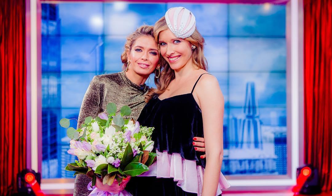 Катя Осадчая после родов отказалась уходить в декрет