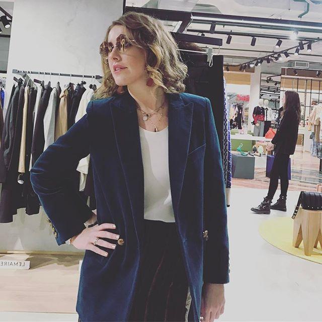 Ксению Собчак обвинили в том, что она не сексуально одевается