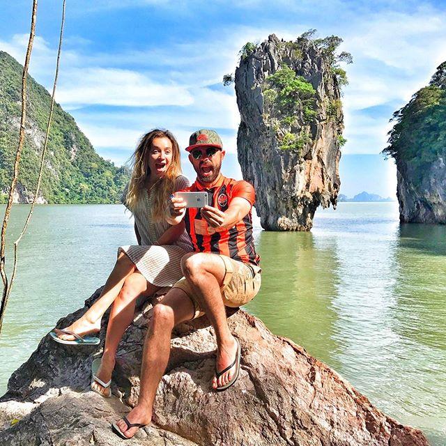 Андрей Бедняков впервые за долгое время опубликовал фото с женой