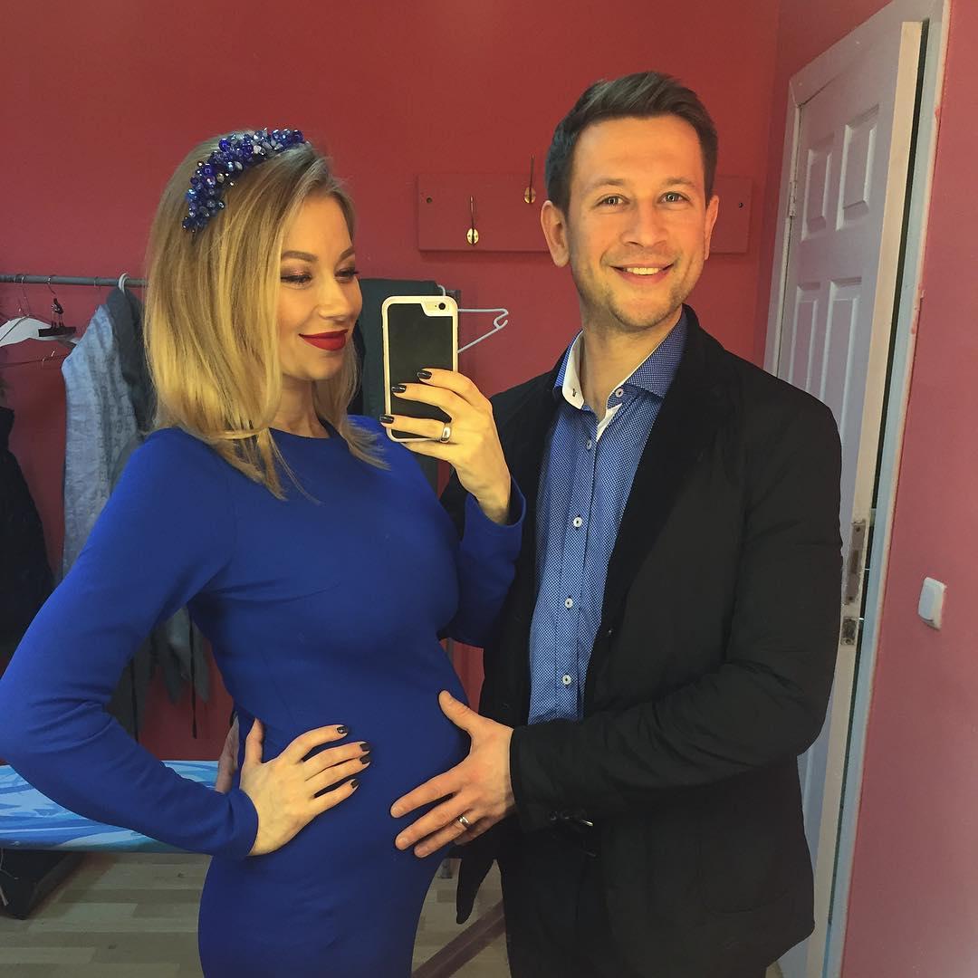 Дмитрий Ступка станет отцом: Полина Логунова беременна