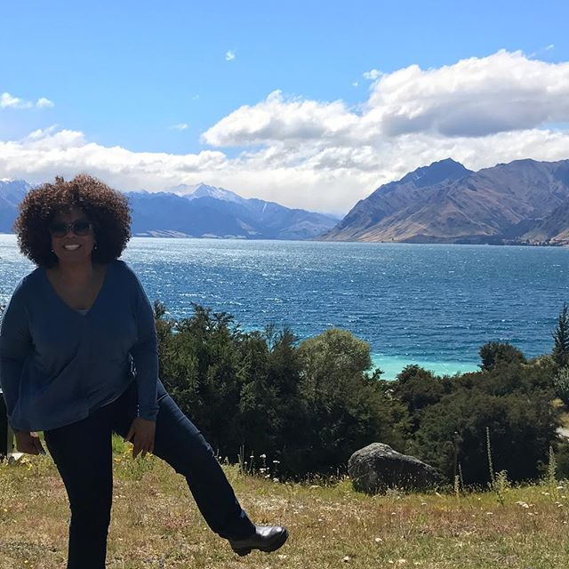 Опра Уинфри вдохновляет поклонников своими фото с Новой Зеландии