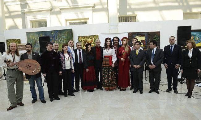 Влада Литовченко и Инна Силантьева провели международный культурный проект, посвященный Тарасу Шевченко