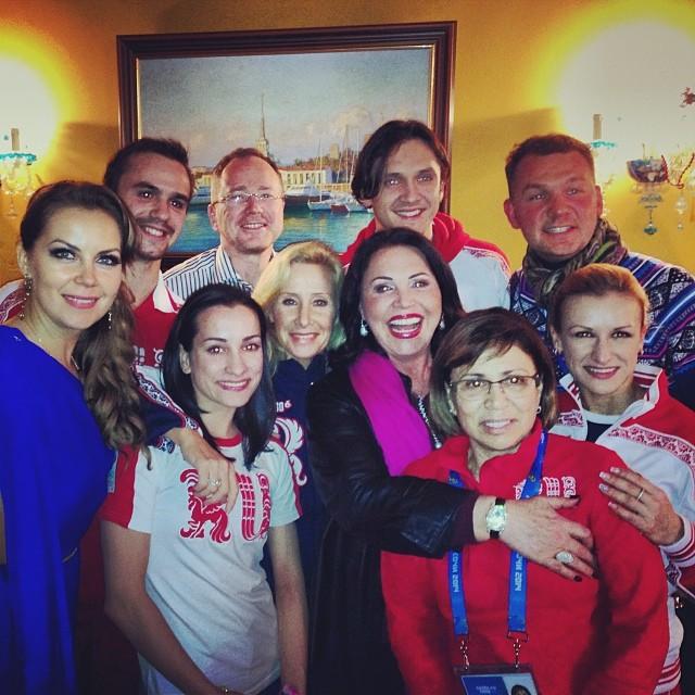 звезды на олимпиаде в сочи 2014 фото