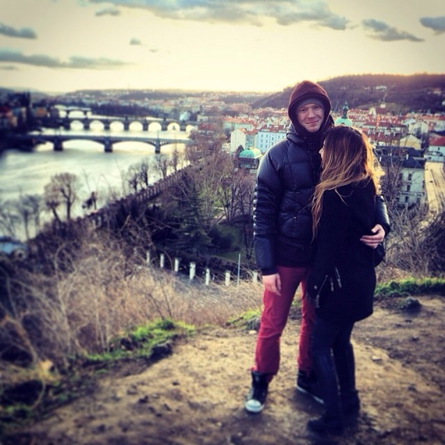 Никита Пресняков и его девушка Аида Калиева