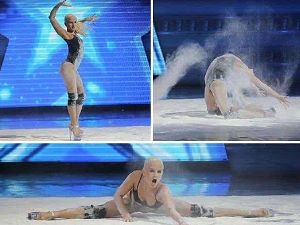 Сама сексуальность: казахстанская танцовщица взорвала интернет танцем в муке
