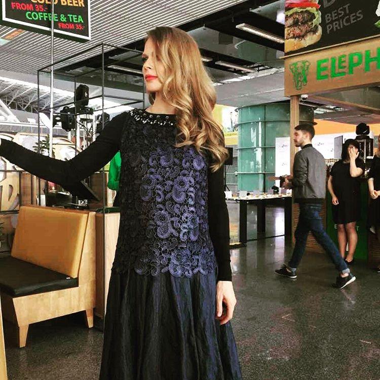 Беременная Ольга Фреймут снялась в фотосессии вместе с дочкой Златой